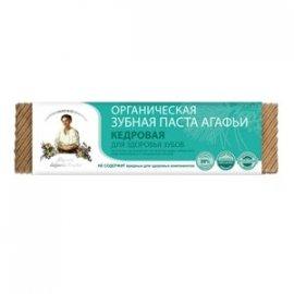 Organiczna pasta do zębów Agafji – cedrowa– zdrowe zęby