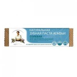 Organiczna pasta do zębów Agafji – solna – świeży oddech