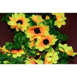 Girlanda słonecznik kwiaty 200cm