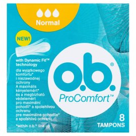 Tampony ProComfort Normal o.b. 16 szt. ob