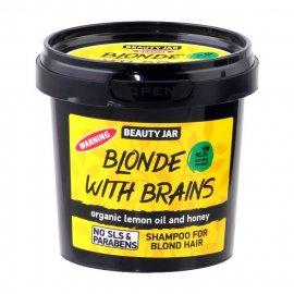 Szampon dla włosów blond BLONDE WITH BRAINS Beauty Jar