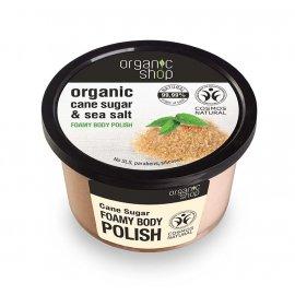 Peeling do ciała Organic shop Cukier Trzcinowy