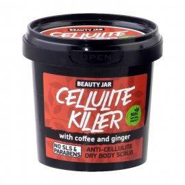 Antycellulitowy suchy peeling do ciała CELLULITE KILLER Beauty Jar