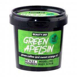 Modelujący scrub do ciała GREEN APELSIN Beauty Jar
