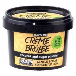 Delikatny scrub do twarzy CREME BRULEE Beauty Jar