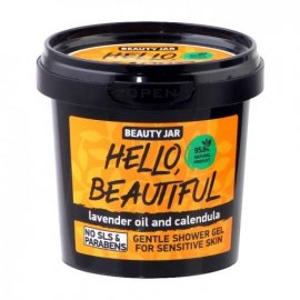 Delikatny żel pod prysznic HELLO BEAUTIFUL Beauty Jar