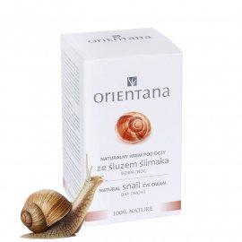 Naturalny krem pod oczy ze śluzem ślimaka Orientana