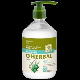 O'Herbal Nawilżający BALSAM DO CIAŁA z ekstraktem z aloesu