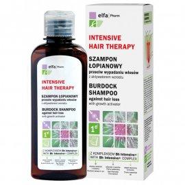 Szampon łopianowy z kompleksem Bh Intensive + przeciw wypadaniu włosów z aktywatorem