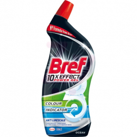 Żel do WC Bref 10xEffect Power Gel Anti Limescale
