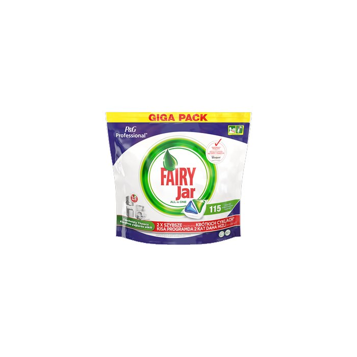 Tabletki Do Zmywarek Original All In One (115) Green Fairy