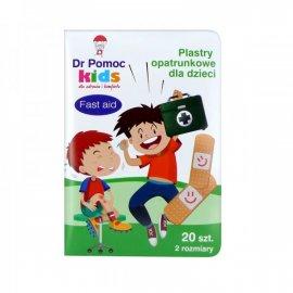 Plastry dla chłopców 20szt Dr Pomoc Kids