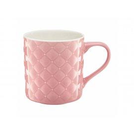 Kubek pikowany Glamour różowy 420ml AMBITION