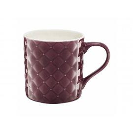 Kubek pikowany Glamour fioletowy 420ml AMBITION