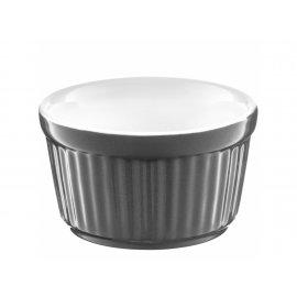 Forma ceramiczna do zapiekania ramekin Ginger 9 cm szary AMBITION