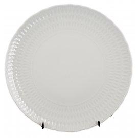 Talerz płytki obiadowy Sofia 28 cm biały Chodzież