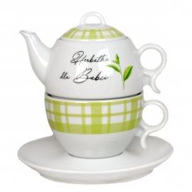 Komplet herbaciany Herbatka dla Babci 3 cz Bola Lubiana