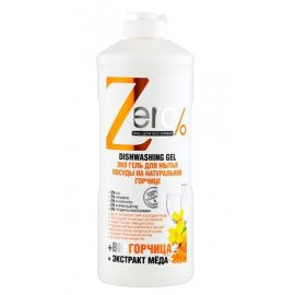 Zero - eco naturalny żel do mycia naczyń gorczyca