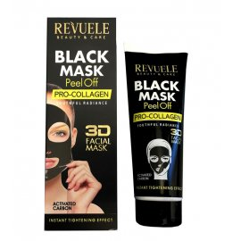 Czarna maska Peel-off PRO-COLLAGEN Revuele
