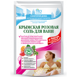 Sól do Kąpieli Krymska Różowa Antycellulitowa Fitokosmetik