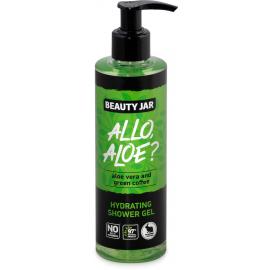 Żel pod prysznic z aloesem i zieloną kawą ALLO, ALOE? Beauty Jar
