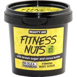 Ujędrniający peeling do ciała FITNESS NUTS Beauty Jar