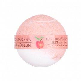 Musująca kula do kąpieli Brzoskwiniowy Sorbet Beauty Jar