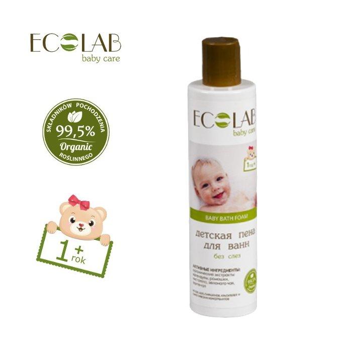 Płyn do kąpieli dla dzieci od 1+ bez łez EC Lab Baby Care