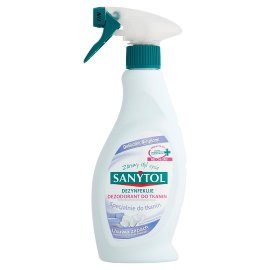 Dezynfekuje Dezodorant do Tkanin SANYTOL 500ml