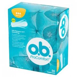 OB TAMPON PROCOMFORT 56szt. NORMAL