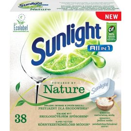Sunlight Powered by Nature All in 1 tabletki do zmywarki