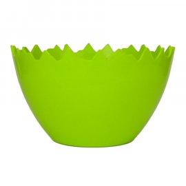 Zielone Jajko plastikowa doniczka Wielkanoc