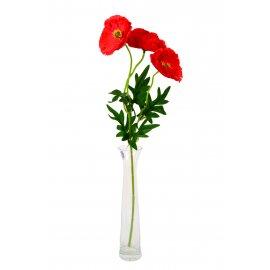 Gałązka Kwiaty Maki 50 cm