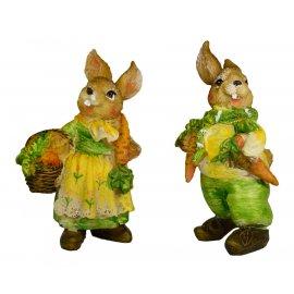 Zając Figurka Wielkanoc Zając Figurka Wielkanoc