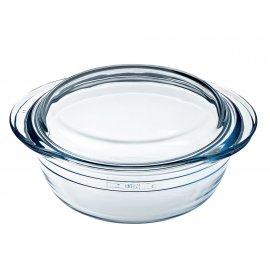 Naczynie żaroodporne okrągłe z pokrywką 1,4 l OCUISINE