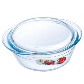 Naczynie żaroodporne okrągłe z pokrywką 2,1 l OCUISINE