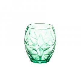Szklanki do whisky zielone ORIENTE 400ml