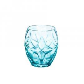 Szklanki do whisky niebieskie ORIENTE 480ml