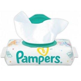 Pampers Sensitive Chusteczki 56 szt. Zamykane
