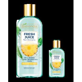 Fresh Juicy rozświetlający płyn micelarny Ananas Bielenda