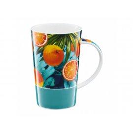 Kubek porcelanowy Tropical 430 ml Pomarańcze AMBITION