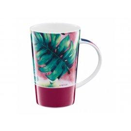 Kubek porcelanowy Tropical 430 ml Liście-Arbuzy AMBITION