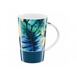 Kubek porcelanowy Tropical 430 ml Liście-Cytryny AMBITION