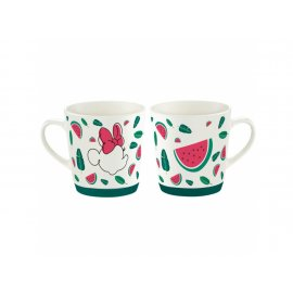 Kubek porcel. Minnie Tropical 320 ml Ananas DISNEY / AMBITION