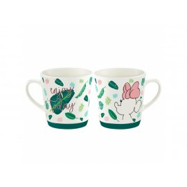Kubek porcel. Minnie Tropical 320 ml Tropiki DISNEY / AMBITION