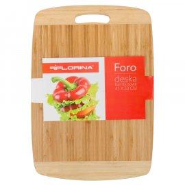 Deska do krojenia bambusowa 40x30 Foro Florina