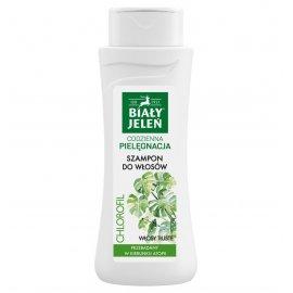 Biały Jeleń szampon do włosów z naturalnym chlorofilem