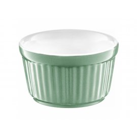 Forma ceramiczna do zapiekania ramekin Ginger 9 cm miętowa AMBITION