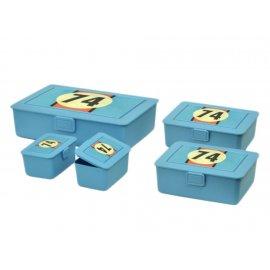 Zestaw 5 pojemników Lunch Box Wyścig DOMOTTI
