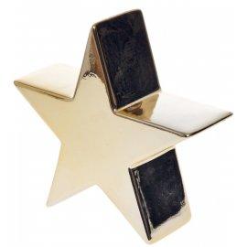 Gwiazda w kolorze złotym mała